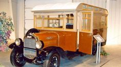 The 1928 Wiedman Camp Body on Stewart truck chassis. Camp Bodies were built in East Tonawanda NY to be placed on any chassis of the buyers choice either factory installed or shipped by rail to be installed by the buyer.