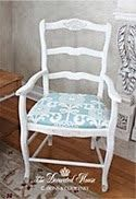 The Decorated House: ~ Annie Sloan Chalk Paint Blues - Distressed & Waxed