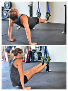 posterior plank to l-sit