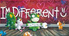 I'm Different by artist Fabio Napoleoni