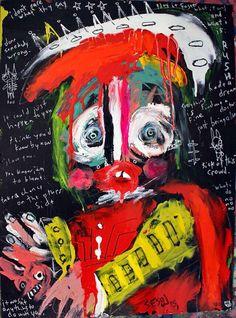 Paintings by Matt Sesow