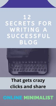Make Money Blogging, Way To Make Money, Content Marketing Strategy, Blog Writing, Blogging For Beginners, Blog Tips, How To Start A Blog, About Me Blog, Minimalist