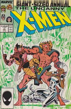 Uncanny X-Men Annual 11 / The X-Men are abducted by Horde, a super-powered being who wants them to locate a precious artifact #xmen
