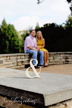 Wood Ampersand Wedding Centerpiece or Decor by LoveyDoveyDarling