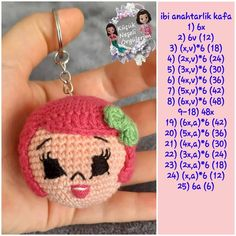 Diy Crafts - -No image description. Crochet Brooch, Crochet Patterns Amigurumi, Amigurumi Doll, Crochet Dolls, Crochet Hats, Crochet Unicorn Hat, Crochet Bunny Pattern, Diy Crafts Crochet, Crochet Projects