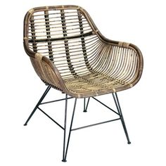 Wicker chair (dining room) A&D Collections