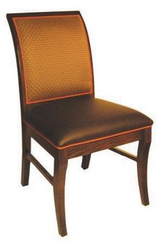 This chair is perfect for our dining room, but we would like the back to be in an oatmeal colored suede.