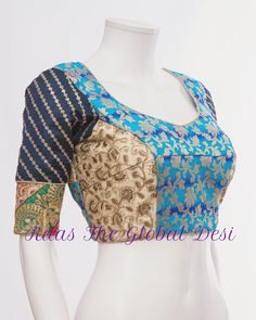 Saree Blouse Neck Designs, Choli Designs, Fancy Blouse Designs, Sleeves Designs For Dresses, Stylish Blouse Design, Collor, Kurti Designs Party Wear, Indian Outfits, Crochet