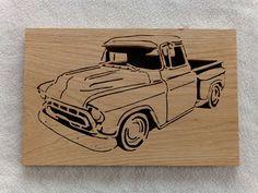 Camion Vintage Hot Rod Home Decor chantournage par DnSRusticDesign