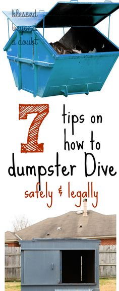 Learn how to successfully dumpster dive like a pro. Know all the safety and how to do dumpster dive legally.