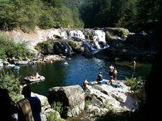 Dougan Falls Swimming Hole - Washougal WA