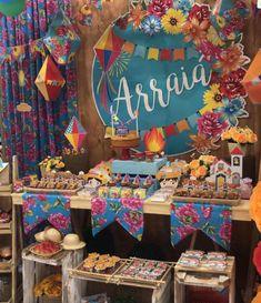 Birthday Table, Happy Birthday, Birthday Party Decorations, Party Themes, Grad Parties, Birthday Parties, Brazillian Food, Dream Party, Farm Theme