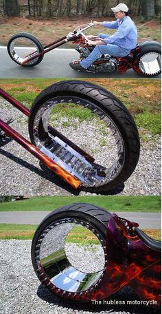 weird but fascinating bike design...