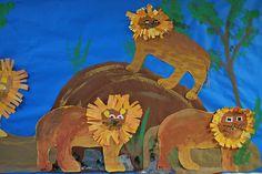 African Lions by paintedpaper, via Flickr
