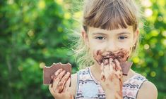 A sweet-toothed child eats chocolate. Character Art, Chocolate, Eat, Children, Young Children, Boys, Kids, Chocolates, Brown