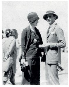 Wallis Spencer (then Spencer) and Italian naval officer Lt Alberto Da Zara, one of many adoring males who fell for her charms in 1924 in Peking