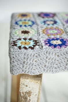 wood & wool stool chantal #2