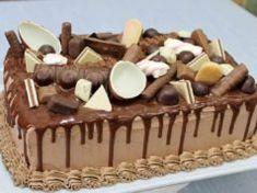 Bogata torta Torte Recepti, Kolaci I Torte, Old Fashioned Nut Roll Recipe, Birthday Sheet Cakes, Tiramisu, Ethnic Recipes, Desserts, Easter, Mom