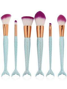 GET $50 NOW | Join RoseGal: Get YOUR $50 NOW!http://m.rosegal.com/makeup-tools/6-pcs-multifunction-mermaid-shape-1113752.html?seid=8812661rg1113752