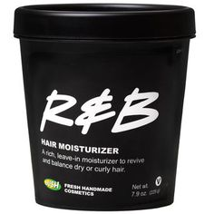 "R&B Hair Moisturizer: Enjoy some of our smooth R & B hair stylings to control your frizzy, flyaway hair. An instant best-seller, our easy-to-use ""hair finisher"" uses softening ingredients of organic avocado butter, oatmeal, olive oil, extra virgin coconut oil, jojoba oil and candelilla wax because they are extremely effective for conditioning the hair and scalp."