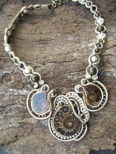 soutache and ammonites