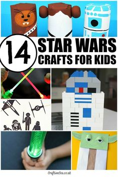 The Best Star Wars Crafts for Kids - Crafts on Sea