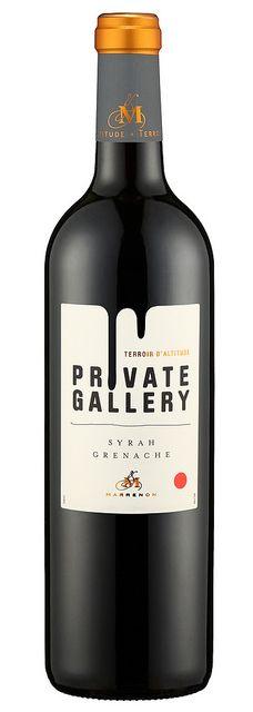 Private Gallery Syrah Grenache, Par Tabas PD wine / vinho / vino mxm
