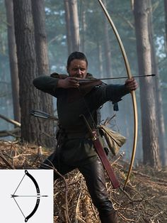 Archery. Now pull that arrow ALL the way back. It is a Warbow!!!