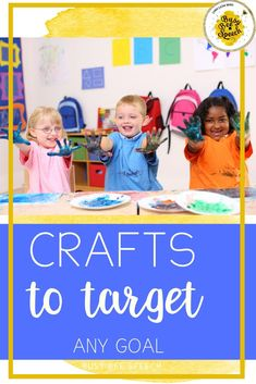 Crafts are a great way get your students engaged in speech therapy! Use this list of crafts to spark your creativity in the next session!