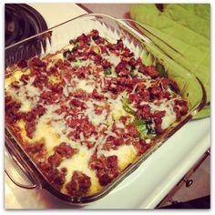 Low-Carb, Keto Friendly Spinach Lasagna