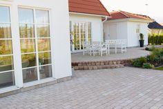 Utemiljøgrossisten AS Rustik Garage Doors, Patio, Places, Garden, Outdoor Decor, Home Decor, Flowers, Garten, Decoration Home