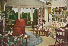 Sunroom, 1949 | Flickr - Photo Sharing!