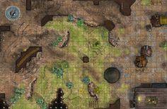 Borderlands Passage D and D Map by robbdaman.deviantart.com on @DeviantArt