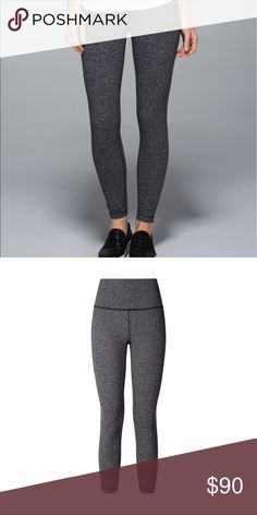 Lululemon High Times Herringbone 7/8 *Like New* Like new! Only worn once. Size 2 and comes right above ankle. Gorgeous print! NO TRADES OR LOW OFFERS. lululemon athletica Pants Leggings