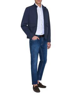 Camicia Jersey - Camicia a maniche lunghe in jersey di cotone con collo francese.