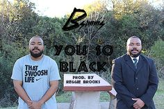 """My new song just dropped, just in time for my bday!! Check out """"You So Black"""" produced by the talented Reggie Brooks"""