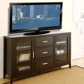 This is going to be our new console table in the living room. :) Found it at Wayfair - Delano Dining Buffet / TV Cabinet