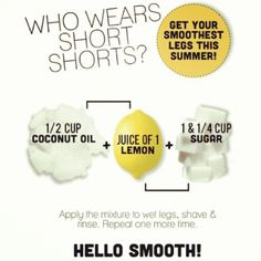 scrub/shave cream for soft smooth summer legs Awesome tips www.naturalwhiteskin.com Beauty Care, Beauty Makeup, Hair Beauty, Look Body, Face And Body, Silky Smooth Legs, Smooth Skin, Soft Legs, Smooth Leg Scrub