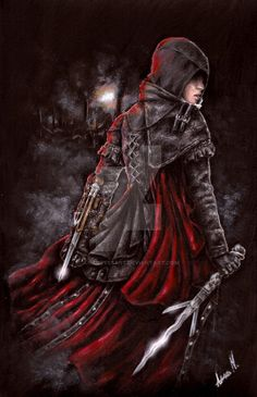 Assassin's Creed - Evie Frye by AnaNevesArt