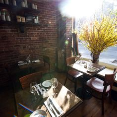 While it's still warm enough to enjoy the weather, head outside to one of these al fresco eateries.