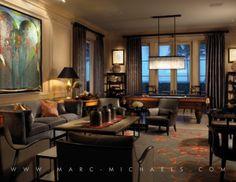Luxury Interior Design Firm in Palm Beach, FL.   Marc-Michaels Inc.