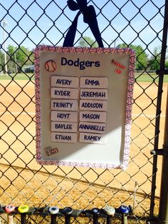 Great idea from one of our team moms getting creative!!!!!