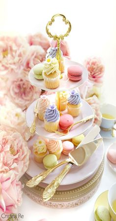 teatime.quenalbertini: Pastel Pastries | Christina Re