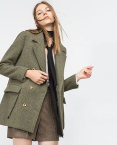 Image 2 of WOOL COAT from Zara