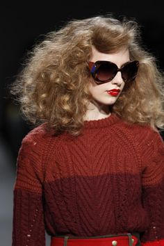 Bring on the irons and a can of spray at Marc by Marc Jacobs  #redken #nyfw #guidopalau