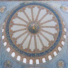 David Stephenson - Domes (1993-2005), Blue Mosque, Istanbul, Turkey (2000)