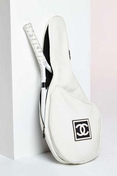 Vintage Chanel Tennis Racket