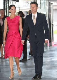 Crown Princess Mary & Crown Prince Frederik of Denmark Photograph