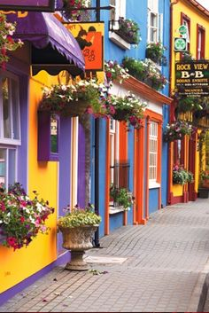 The Glen in Kinsale, Co. Cork, Ireland • photo: Mark and Cindy Wiens on Live a Colorful Life I SOO NEED to live in Ireland...I absolutely LOVE this!!