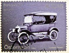 stamp Austria postage € 0.55 Ford Modell T timbre Autriche selo sello…